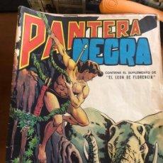 Tebeos: PANTERA NEGRA REVISTA LOTE DE 64 TEBEOS DEL 16 AL 80 SE PUEDE LLEGAR A VENDER SUELTOS. Lote 132680874