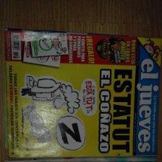 Tebeos: LOTE DE 2 REVISTAS EL JUEVES AÑO 2006. Lote 132807014