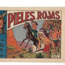 Tebeos: PIELES ROJAS, AÑO 1.955. COLECCIÓN COMPLETA SON 2. TEBEOS ORIGINALES DIBUJANTE V. FARRES.. Lote 132962458