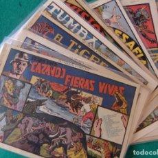 Tebeos: CAZANDO FIERAS VIVAS COLECCION COMPLETA ORIGINAL HISPANO AMERICANA. Lote 132995194