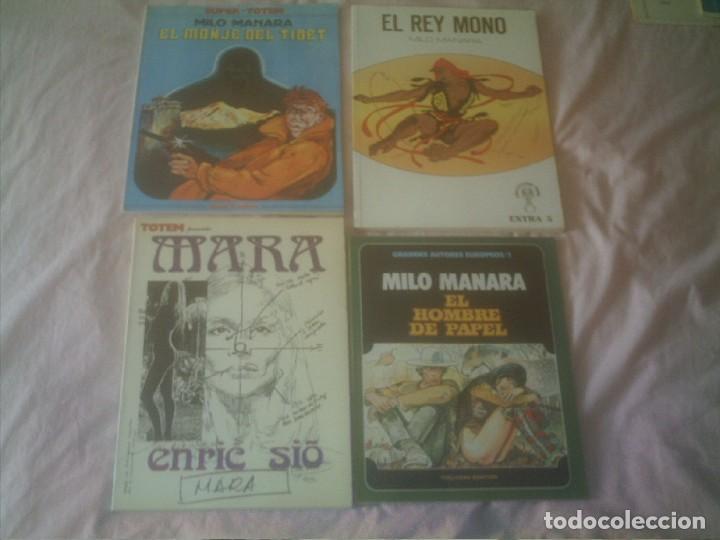 TOTEM MILO MANARA MARA ENRIC SIO (Tebeos y Comics - Tebeos Pequeños Lotes de Conjunto)