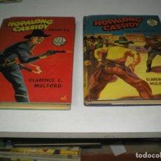 Livros de Banda Desenhada: LOTE DE NOVELAS DE HOPALONG CASSIDY . Lote 133127202