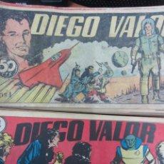 Tebeos: DIEGO VALOR ( COLECCIÓN COMPLETA ORIGINAL). Lote 133200566