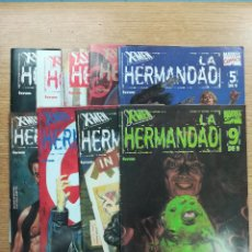 Tebeos: X-MEN LA HERMANDAD COLECCION COMPLETA (9 NUMEROS). Lote 133211118