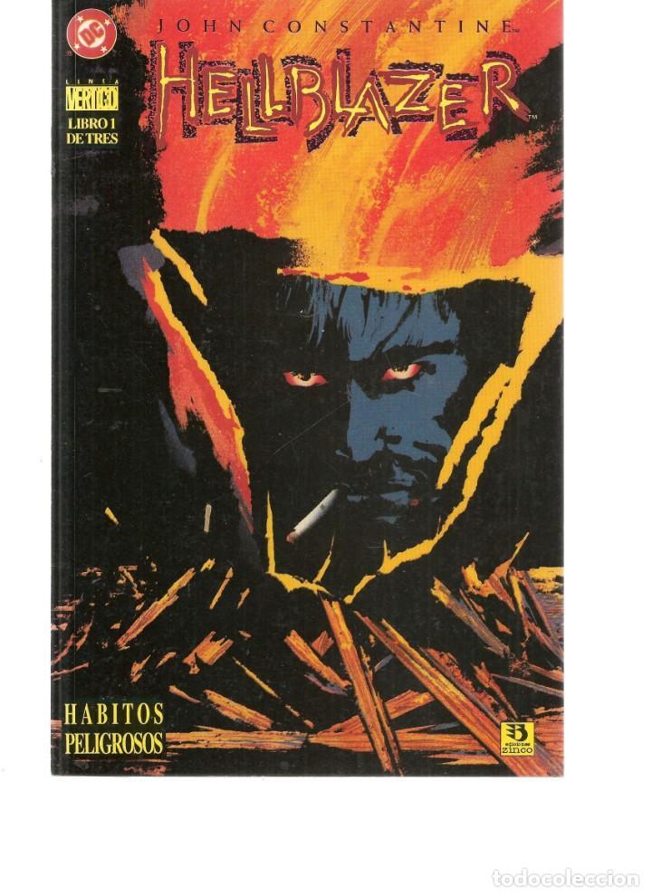 HELLBLAZER. 3 NROS. ¡¡COMPLETA!!. VERTIGO/DC/ZINCO.(RF.MA)C/8 (Tebeos y Comics - Tebeos Colecciones y Lotes Avanzados)