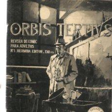 Tebeos: ORBIS TERTIVS. 3 NROS. ¡¡COLECCIÓN COMPLETA!!. HERMIDA EDITOR. (RF.MA) C/8. Lote 133318146