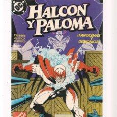 Tebeos: HALCÓN Y PALOMA. 5 NROS. ¡¡COLECCIÓN COMPLETA!!. DC/ZINCO. (RF.MA) C/12. Lote 133437370