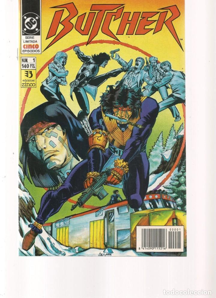 BUTCHER. 5 NROS. ¡¡COLECCIÓN COMPLETA!!. DC/ZINCO. (RF.MA) C/12 (Tebeos y Comics - Tebeos Colecciones y Lotes Avanzados)
