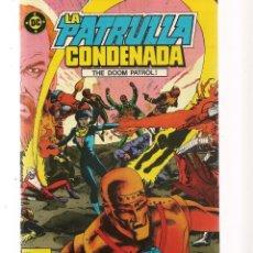 Tebeos: LA PATRULLA CONDENADA. 16 NROS. ¡¡COLECCIÓN COMPLETA!!. DC/ZINCO. (RF.MA) C/12. Lote 133437550