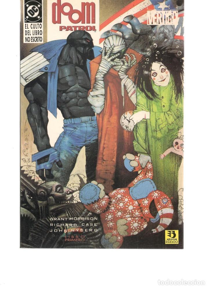 DOOM PATROL. 2 NROS. ¡¡COLECCIÓN COMPLETA!!. DC/ZINCO. (RF.MA) C/12 (Tebeos y Comics - Tebeos Colecciones y Lotes Avanzados)