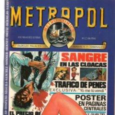 Tebeos: METROPOL. 12 NROS. ¡¡COLECCIÓN COMPLETA!!. (RF.MA) B/61. Lote 133519506