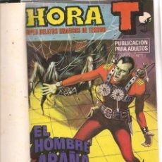 Tebeos: HORA T. SUPER RELATOS GRÁFICOS DE TERROR. 11 NROS. ¡¡COMPLETA!!. EN UN TOMO. BRUGUERA. (RF.MA) B/12. Lote 133558286