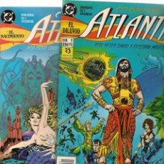 Tebeos: CRÓNICAS DE ATLÁNTIS. 7 NROS. ¡¡COMPLETA!!. DC / ZINCO. (RF.MA) C/9. Lote 133743250