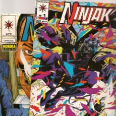 Tebeos: NINJAK. 9 NROS. ¡¡COMPLETA!!. NORMA. (RF.MA) C/12. Lote 133759162