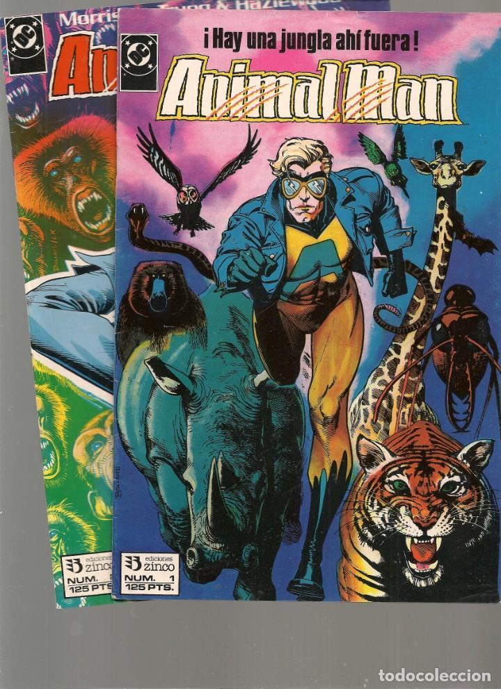 ANIMAL MAN. 26 NROS. ¡¡COMPLETA!!. DC/ZINCO (RF.MA) C/15 (Tebeos y Comics - Tebeos Colecciones y Lotes Avanzados)