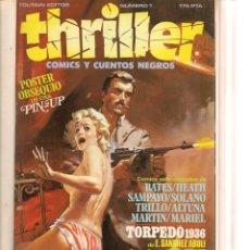 Tebeos: THRILLER. 6 NROS. ENCUADERNADOS EN UN TOMO. ¡¡COMPLETA!!. TOUTAIN EDITOR.(RF.MA)B/21. Lote 133844442