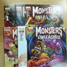 Tebeos: MONSTERS UNLEASHED COLECCION COMPLETA (6 NUMEROS). Lote 133848478