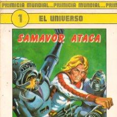 Tebeos: EL UNIVERSO. PROTEO FUERZA 10. 2 NROS. ¡¡COMPLETA!!. EDICIONES RASGOS. (RF.MA) C/29. Lote 133920282