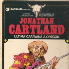 Tebeos: JONATHAN CARTLAND. 8 NROS. ¡¡COMPLETA!!. EDICIONES JUNIOR/GRIJALBO. (RF.MA)B/41. Lote 134020674