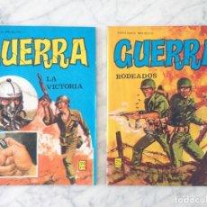 Tebeos: GUERRA - LOTE DE 2 CÓMICS - VILMAR. Lote 134100626