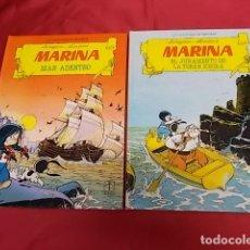 Tebeos: LAS AVENTURAS DE MARINA. COLECCION COMPLETA 2 TOMOS. TORAY. . Lote 134294466