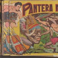 Tebeos: PANTERA NEGRA. MAGA 1956. (DE 1,25) 50 EJEMPLARES. COLECCIÓN A FALTA DEL Nº. 48, 49, 52 Y 54. CONSER. Lote 134727935