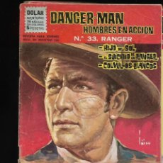 Tebeos: DANGER - MAN, AÑO 1963 COLECCIÓN COMPLETA SON 40 TEBEOS ORIGINALES NUNCA VISTA COMPLETA MUY NUEVA. Lote 134880122