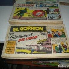 Tebeos: LOTE DEL GORRION CON 25 EJEMPLARES. Lote 135098150