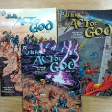 Tebeos: JLA ACT OF GOD COLECCION COMPLETA (3 TOMOS). Lote 135138694
