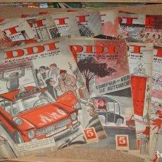 Tebeos: DDT LOTE DE 15 ORIGINALES DE LOS DIFICILES ÚLTIMOS GRANDES, BRUGUERA 1966 EN MUY BUEN ESTADO. Lote 135225266