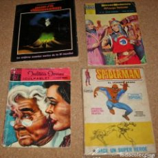 Tebeos: SPIDERMAN 6- JULIETA JONES 11-PRINCIPE VALIENTE 45- NUEVA DIMENSION 60 - LOTE BARATO, VER FOTOS. Lote 135332246