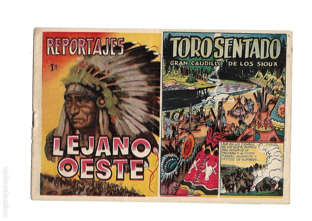 Tebeos: Reportajes Lejano Oeste Año 1955 Colección Completa son 6 Tebeos Originales muy dificil de Completar - Foto 4 - 135291122