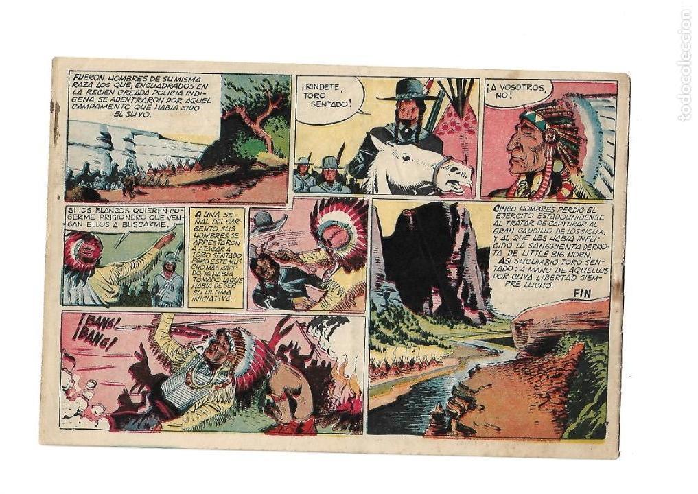 Tebeos: Reportajes Lejano Oeste Año 1955 Colección Completa son 6 Tebeos Originales muy dificil de Completar - Foto 5 - 135291122