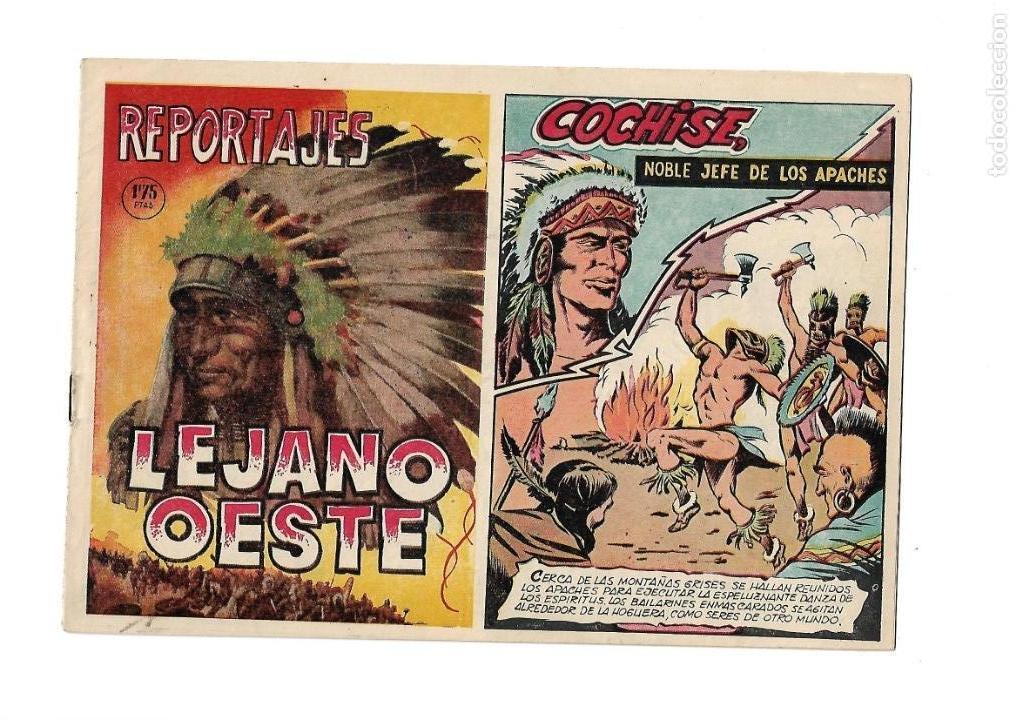Tebeos: Reportajes Lejano Oeste Año 1955 Colección Completa son 6 Tebeos Originales muy dificil de Completar - Foto 6 - 135291122