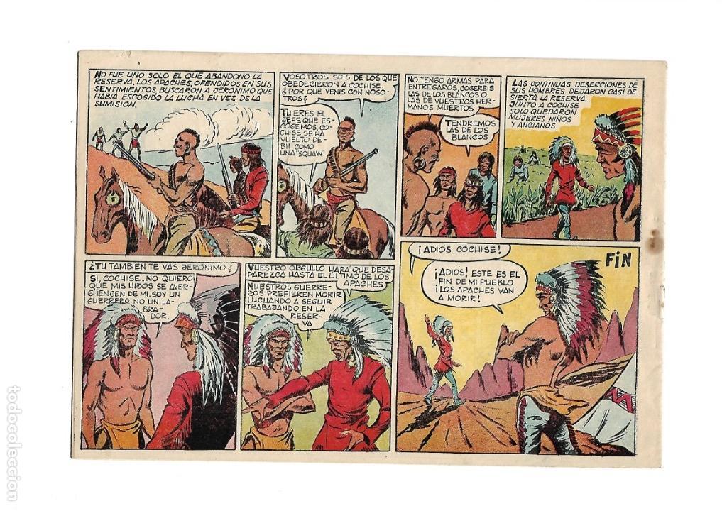 Tebeos: Reportajes Lejano Oeste Año 1955 Colección Completa son 6 Tebeos Originales muy dificil de Completar - Foto 7 - 135291122