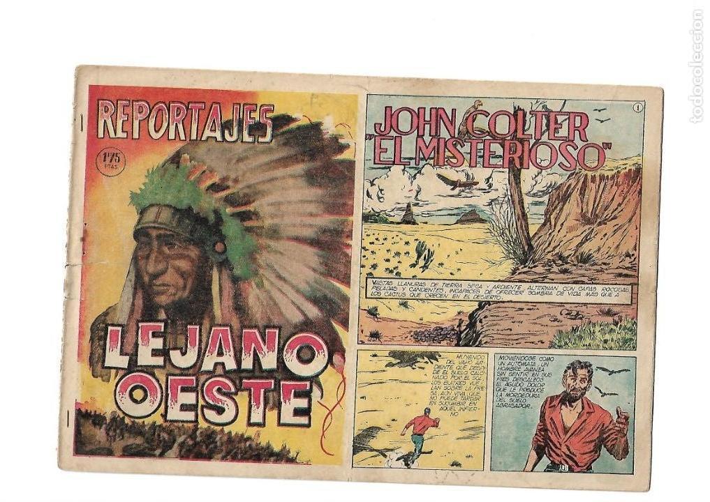 Tebeos: Reportajes Lejano Oeste Año 1955 Colección Completa son 6 Tebeos Originales muy dificil de Completar - Foto 8 - 135291122