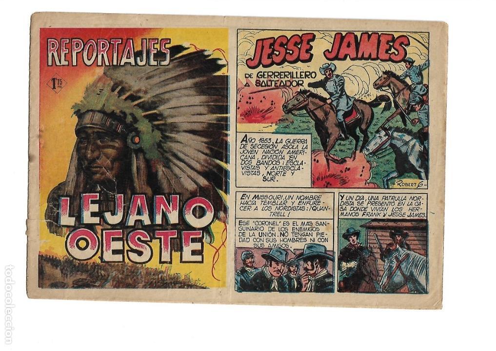 Tebeos: Reportajes Lejano Oeste Año 1955 Colección Completa son 6 Tebeos Originales muy dificil de Completar - Foto 10 - 135291122