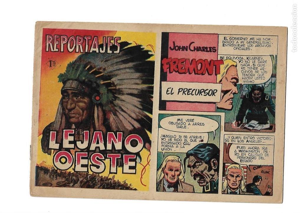 Tebeos: Reportajes Lejano Oeste Año 1955 Colección Completa son 6 Tebeos Originales muy dificil de Completar - Foto 12 - 135291122