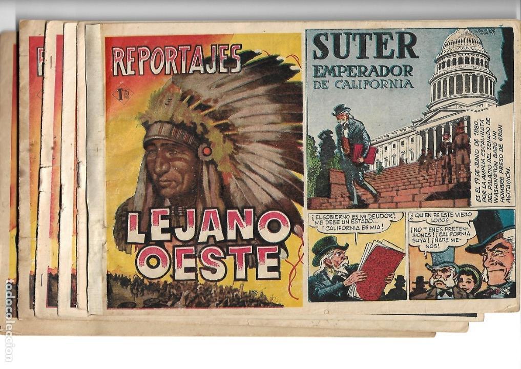 Tebeos: Reportajes Lejano Oeste Año 1955 Colección Completa son 6 Tebeos Originales muy dificil de Completar - Foto 14 - 135291122