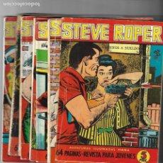 Tebeos: STEVE ROPER, AÑO 1.958. COLECCIÓN COMPLETA SON 8. TEBEOS ORIGINALES. EDITORIAL FERMA.. Lote 134971818