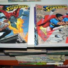 Tebeos: LAS AVENTURAS DE SUPERMAN DEL 1 AL 10 FALTA EL NUMERO 9. Lote 135766042