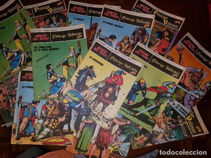 LOTE COMICS PRINCIPE VALIENTE (HÉROES DEL COMIC) VER DESCRIPCION (Tebeos y Comics - Tebeos Colecciones y Lotes Avanzados)
