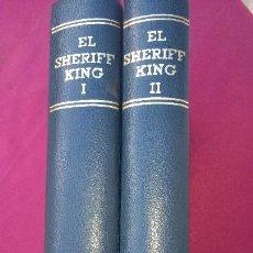 Tebeos: 2 TOMOS DE COMICS 1973 DEL SHERIFF KING ENCUADERNADOS EDICIÓN LUJO.(RARÍSIMO). Lote 135811418