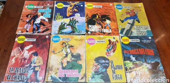 LOTE SELECCIONES VERTICE GRAPA (Tebeos y Comics - Tebeos Pequeños Lotes de Conjunto)