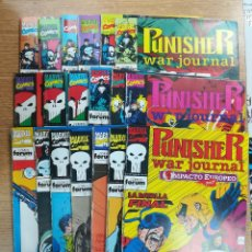 Tebeos: PUNISHER WAR JOURNAL COLECCION COMPLETA. Lote 136209138