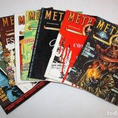 Tebeos: METROPOL-PAPELES FALACES URBANOS Y CRIMINALES-8 NUMEROS.. Lote 136232822