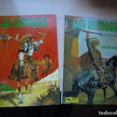 Tebeos: LOS GRINGOS - COMPLETA - DOS NÚMEROS - TAPA DURA - JUNIOR. Lote 136254278