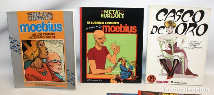 Tebeos: 24 -METAL HURLANT-HUMANOIDES-NEGRA-METAL-BUEN ESTADO.ED NUEVA FRONTERA- - Foto 4 - 136317242