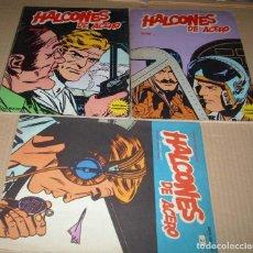 Tebeos: HALCONES DE ACERO LOTE DE DOS TOMOS B.LAN 1973 EL 2 Y EL 4 + EL FASCICULO Nº 2 DE 1974-LEER ENVIOS. Lote 136401178