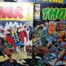 Tebeos: THOR VOL-2, NºS 30 Y 40, VÉRTICE (1973). Lote 136513790